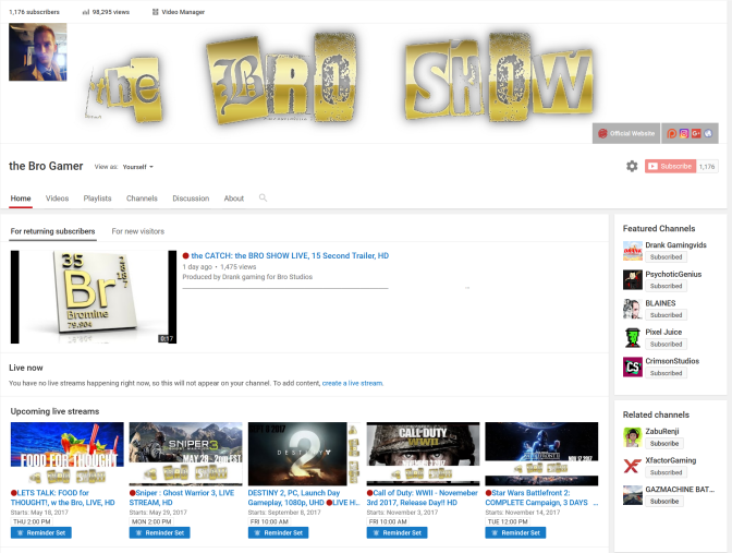 97,000 Views in only 9 Months and GROWING!!!…